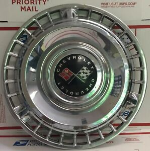 1961 Chevy Impala Hubcap 14 Original Chevrolet Bubble Top