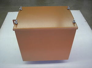 Allis Chalmers B C Ca New Battery Box With Lid 19 14 11
