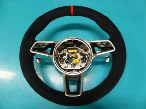 Porsche 991 Custom Padded Steering Wheel New Alcantara