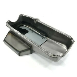 Small Block Chevy 58 79 Raw 2 Piece Rear Main Champ Style Oil Pan 7qt 350 400