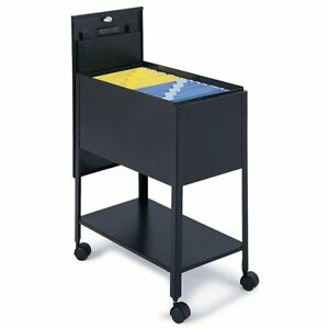 Extra Deep Mobile Tub File Cabinet With Lock letter Size