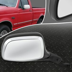 For 92 97 Ford F100 F150 Bronco Oe Style Manual Right Side Rear View Door Mirror