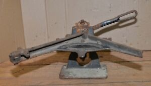 Rare H B Rouse Antique Printer Bevel Miter Cutter Lead Type Setters Early Tool