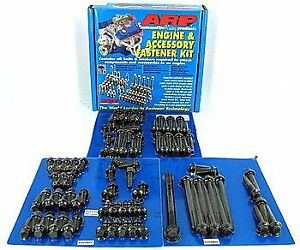 Arp Engine Accessory Fastener Kit 555 9801 Ford 429 460 Black Oxide Hex Head