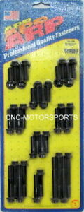 Arp Intake Manifold Bolt Kit 134 2104 Chevy 305 350 Tuned Port Black Oxide