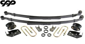 1968 69 Chevy Camaro 2 Drop Complete Narrow Leaf Spring Upgrade Kit