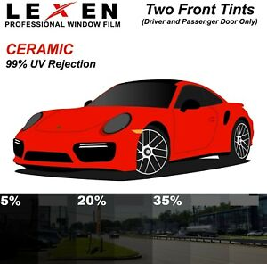 Two Front Windows Precut 2ply Premium Ceramic Film Kit Computer Cut Glass Tint