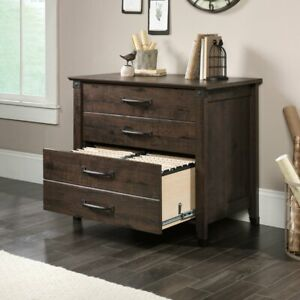 Sauder Carson Forge Lateral File Cabinet Oak