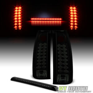 1992 1999 Chevy gmc Suburban 95 99 Tahoe Lumileds Led Tail Lights 3rd Brake Lamp