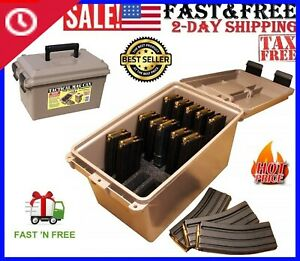 MTM Ammunition Magazine Pouches Tactical Mag Can For223 5.56 Magazine Storage