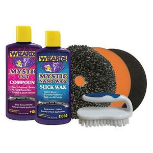 Wizards Products 99121 Scratch Swirl Removal Kit 6 Piece