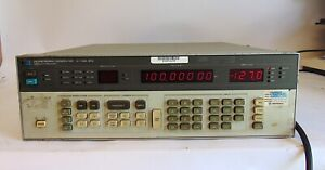 Hp 8656b Signal Generator 0 1 990mhz Works Good S4116