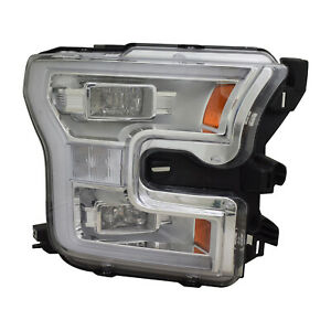Fo2503344r Remanufactured Oem Factory Led Passenger Headlight Assembly