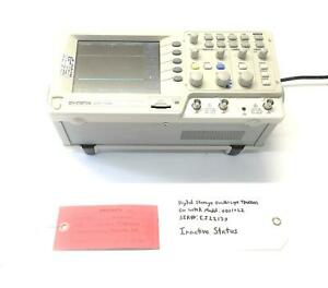gw Instek 25mhz 2 channel Color Display Digital Storage Oscilloscope Gds 1022
