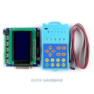 5axis Upgraded Cnc Breakout Board Interface Set keypad display Manual Control