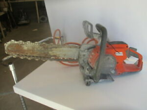 Husqvarna K6500 Concrete Wet Cutting Chainsaw High Frequency Saw 18 Chain