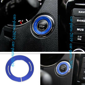 Blue Abs One button Start Button Cover Trim For Nissan Teana Altima 2013 2018