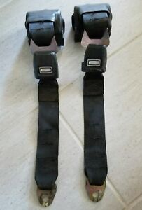 1963 1964 Plymouth Dodge Front Retracting Seat Belts Pair