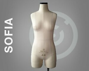 Sofia Pro Soft Dress Form With Construction Lines Talor Sewing Mannequin