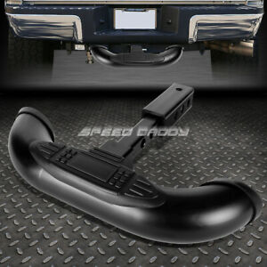 1 25 2 Receiver Black Trailer Towing Tailgate hitch Cover Rear Step Bar Guard