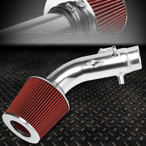 For 06 11 Honda Civic Si Lightweight Short Ram Air Intake System red Cone Filter