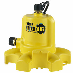 Wayne Wwb 1 6 Hp Thermoplastic Non submersible Utility Pump Waterbug