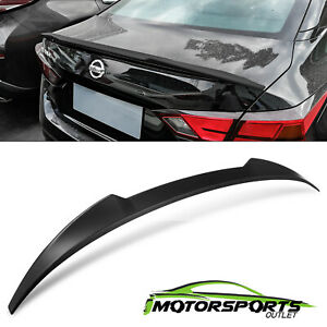 For 2019 Nissan Altima Matte Black Reartrunk Spoiler Tail Wing Abs
