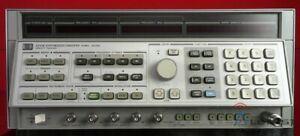 Hp Agilent 8341b 003 2819a01666 Synthesized Sweep Signal Generator 20ghz