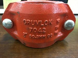 Lot Of 4 Anvil Gruvlok Fig 7042 Outlet Couplings 2