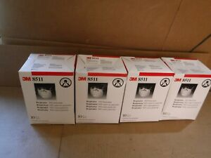 40 Pack 4 Boxes 3m Particulate N95 Respirator With Valve