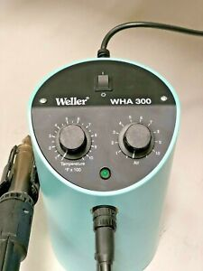 Weller Wha 300 Hot Air Station Wha300 Soldering Reflow Rework Assembly