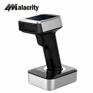 Wireless Usb Handheld Laser Automatic Bar Code Scanner With Tft Color Lcd Screen