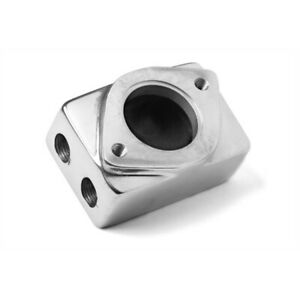 Weiand 7134p Polished 6 71 8 71 Supercharger Remote Thermostat Housing