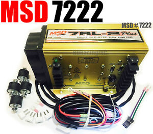 Msd Ignition 7222 7al 2 Plus Ignition Control Box Free Ls Fest Tee Shirt