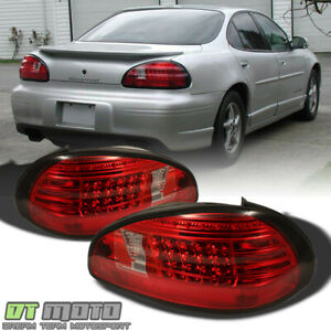 1997 2003 Pontiac Grand Prix Led Red Clear Tail Lights Brake Lamps Left right