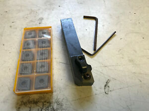 New 1 Cnmg Lathe Cutting Tool With 10 Walter s Carbide Inserts
