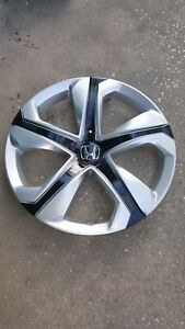 16 Silver black Hubcap Wheelcover For 2016 2017 Honda Civic 1 Better Than Oem
