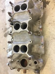 1967 Corvette Tri power Rectangle Port Manifold