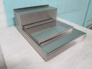 peters Pak Commercial Counter Top Refrigerated Cold Plate Merchandiser Display
