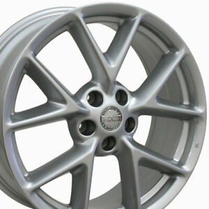 19 Maxima Style Silver Wheels 19x8 Rims Fit Nissan Set Of 4 Oew