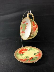 Vintage Cup And Saucer Japanese Eggshell Porcelain Cup And Saucer Set