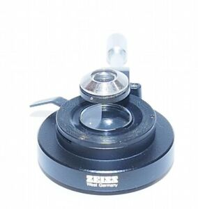 Zeiss 0 9 N a Microscope Condenser For Universal Photomicroscope Wl Standard