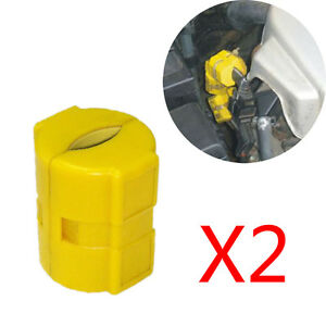 2pcs Xp 2 Universal Magnetic Fuel Saver For Car Truck Reduce Exhaust Emissions