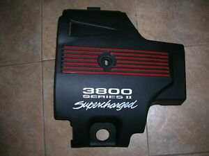 2004 Chevy Monte Carlo Ss Supercharged 3800 Engine Cover Oem Nice