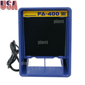New Fa 400 Soldering Iron Smoke Absorber Fume Extractor Free 12 Filter Kit Usa