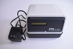 Pti M 3500 Time Clock Stamp Recorder With Key