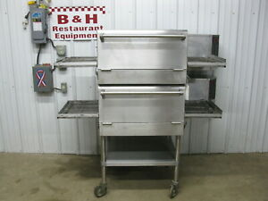 Star Holman Ultra Max Um1854 Nat Gas Conveyor Double Stack Pizza Oven 18 Belt