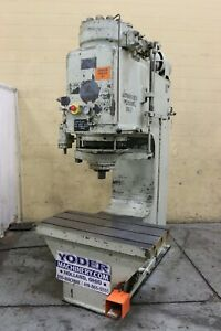 125 Ton Williams White Hydraulic C Frame Press Yoder 69815