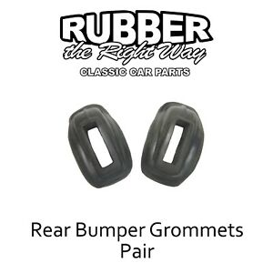1933 1934 Plymouth Dodge Rear Bumper Grommets Pair