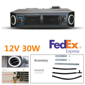 Universal 12v 30w Underdash Evaporator Air Conditioner 3 Speed For Car Truck Rv